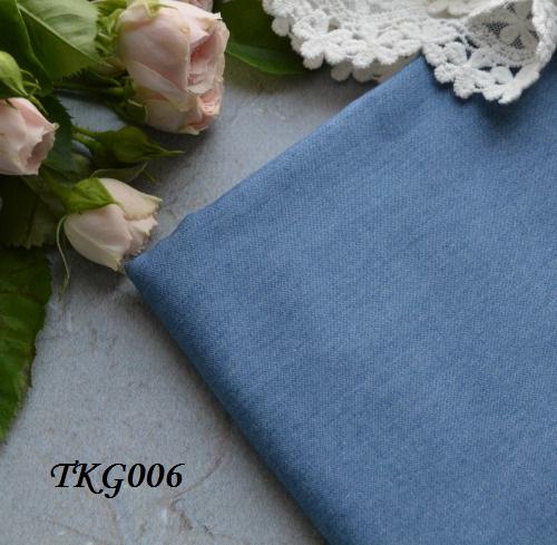 Джинсовая ткань  для рукоделия TKG006. Отрез 20*50см • tkg006