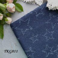 Джинсовая ткань  для рукоделия TKG011 . Отрез 20*50см