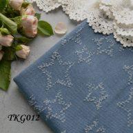 Джинсовая ткань  для рукоделия TKG012. Отрез 20*50см