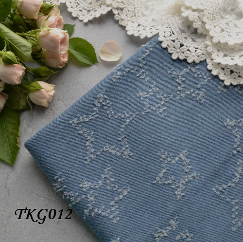 Джинсовая ткань  для рукоделия TKG012. Отрез 20*50см • tkg012