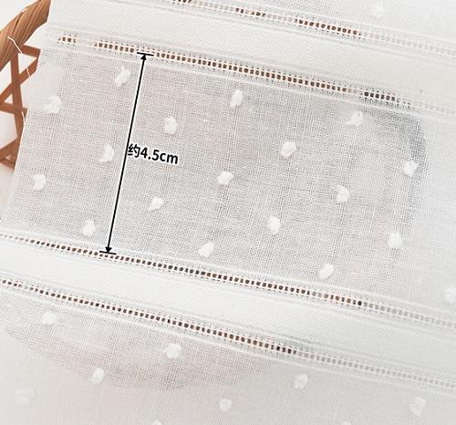 • Батист вышитый в полоску и горошек экрю. Хлопковая ткань для кукольной одежды и рукоделия. Ширина ткани 140см. Цена указана за 1 отрез. 1 отрез – 25*45см 2 отреза - 50*45см 3 отреза - 50*45см + 25*45см 4 отреза - 50*90см …