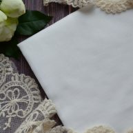 Батист для подкладки белый TKR011