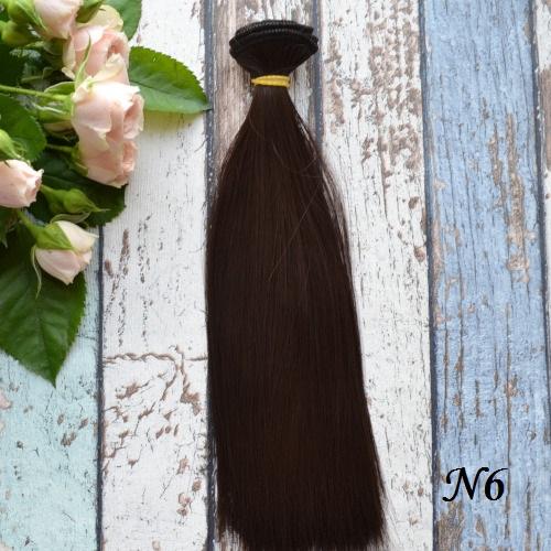 Волосы для кукол 20см  N6 • vn6 20