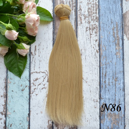 • Волосы для кукол. Длина волос 20 см, ширина треса 1 метр. Цена указана за 1 метр.