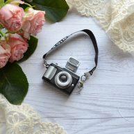 Мини фотоаппарат для куклы с ремешком AF11