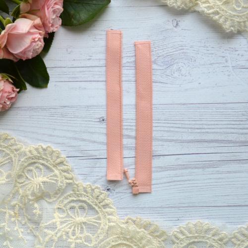 • Розовая молния для кукольной одежды разъемная. Мини фурнитура для кукольной одежды. Размер: 11*2,6см. Цена указана за 1шт.