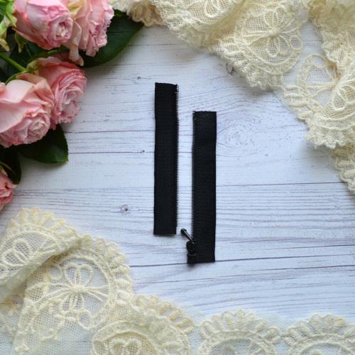 • Молния  черная. Размер  8 * 2,4 см Цена указана за 1 шт.