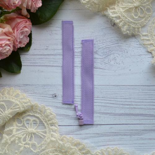 • Молния фиолетовая. Размер 8 * 2,4 см Цена указана за 1 шт.