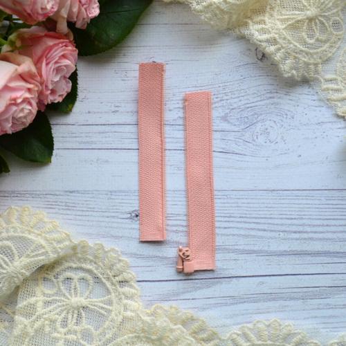 • Молния персиковая. Размер  8 * 2,4 см Цена указана за 1 шт.