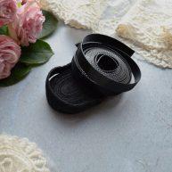 Липучка черная 10мм для кукольной одежды