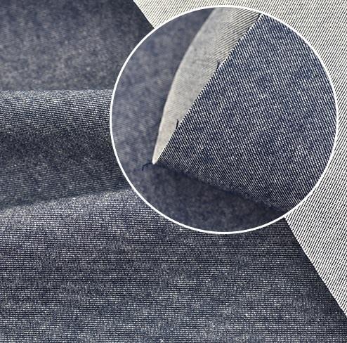 • <h5>Хлопковая ткань для верхней одежды синяя</h5> Ширина ткани 110 см. Цена указана за 1 отрез: 1 отрез – 22*50см 2 отреза - 44*50см 3 отреза - 66*50см 4 отреза - 88*50см …