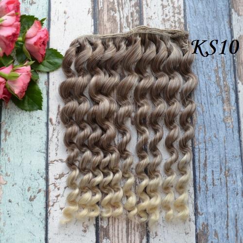 • Волосы для кукол. Длина волос 17 см, ширина треса 1 метр. Цена указана за 1 метр.