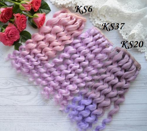 Волосы для кукол KS20 • vks6 1