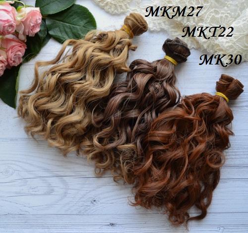 Волосы для куклы Кудряшки MKM27