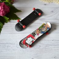 Скейт для куклы черный УЦЕНКА