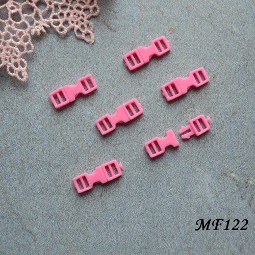 • Фастекс розовый. Длина 16мм, Размер под ремешок 4мм Цена указана за 2шт.