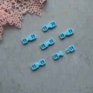 Фастекс пластиковый 4 мм голубой 2шт. MF123