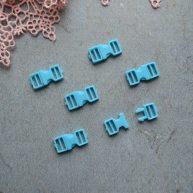 Фастекс пластиковый 6 мм голубой 2шт. MF127