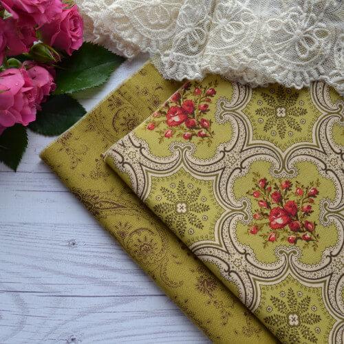 • Хлопковая ткань для пэчворка и рукоделия. Американский хлопок c узорами. Ширина ткани: 110см. Цена указана за 1 отрез. 1 отрез – 24*77см.