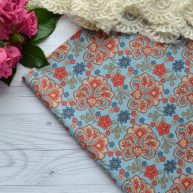 Хлопковая ткань для пэчворка moda fabrics TKA011