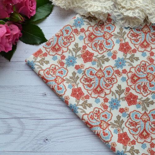 Хлопковая ткань для пэчворка moda fabrics TKA013