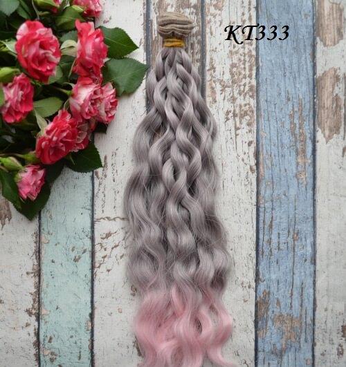 • Волосы для кукол.  Искусственные волосы для текстильных кукол, восстановления волос, рестайлинга.  Длина волос 25 см, ширина трессы 1 метр.  Цена указана за 1 метр.