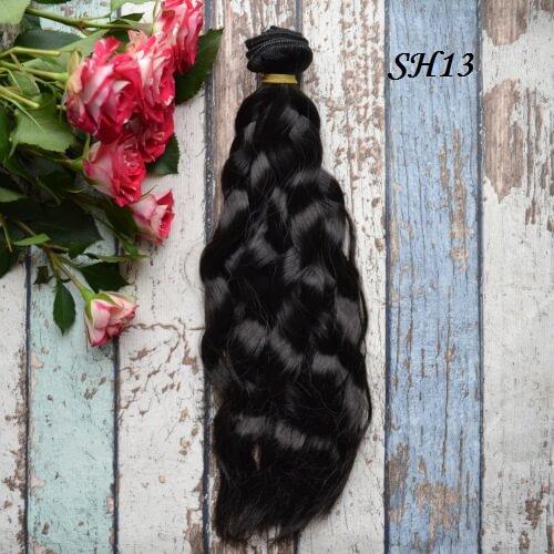 Искуственные волосы для кукол SH12 Шелк