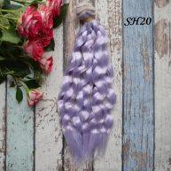 Искусcтвенные волосы для кукол SH20 Шелк