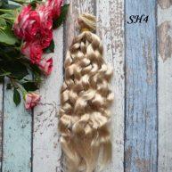 Искусcтвенные волосы для кукол SH4 Шелк