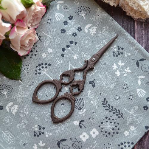 • Ножницы для рукоделия Винтажные Длина ножниц 12см. Цена указана за 1 шт.