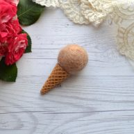 Мороженое для куклы 6.5 см