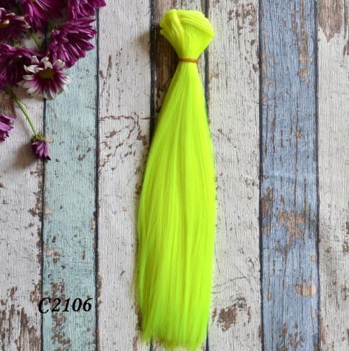 • Волосы для кукол. Длина волос 25 см, ширина трессы 1 метр. Цена указана за 1 метр.