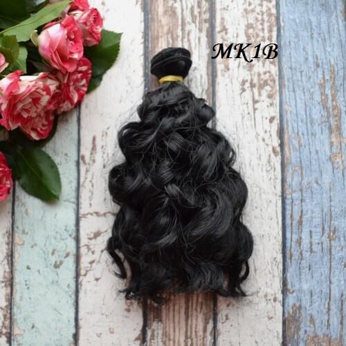 • Волосы для кукол. Длина волос 15 см, ширина трессы 1 метр. Цена указана за 1 метр.