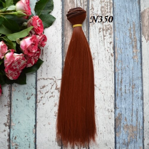 • Волосы для кукол. Длина волос 20 см, ширина трессы 1 метр. Цена указана за 1 метр.