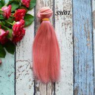 Искусственные волосы для кукол SH01 Шелк