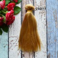 Искусственные волосы для кукол SH011 Шелк