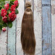 Искусственные волосы для кукол SH023 Шелк