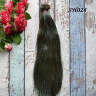 Искусственные волосы для кукол SH024 Шелк