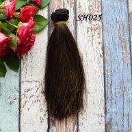 Искусственные волосы для кукол SH025 Шелк
