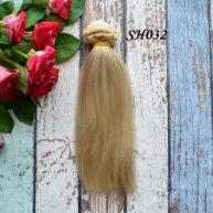 Искусственные волосы для кукол SH032 Шелк