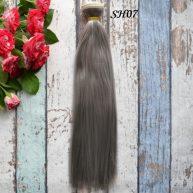 Искусственные волосы для кукол SH07 Шелк