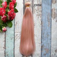 Искусственные волосы для кукол SH08 Шелк