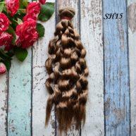 Искусственные волосы для кукол SH15 Шелк