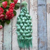 Искусственные волосы для кукол SH21 Шелк