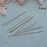 Игла для пришивания мини-пуговиц 3.6 см №12 AS029