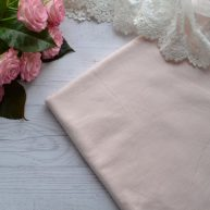 Трикотаж нежно-розовый. Отрез 20*50см TKR079