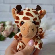 Игрушка для куклы Жираф  11 см ALB50