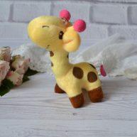 Игрушка для куклы Жираф  12 см ALB52