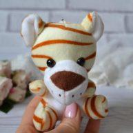 Игрушка для куклы Тигр  11 см ALB54