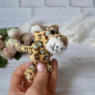 Игрушка для куклы Nici Леопард 9 см ALB55